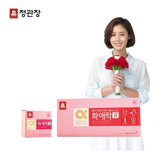 [빠른배송]정관장 화애락큐 3박스/밸런스팩3회분+이너제틱3포