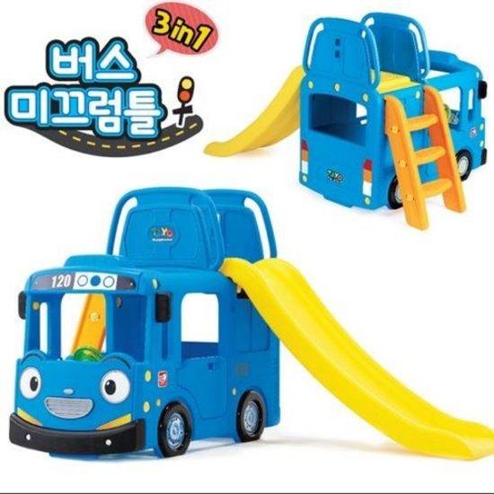 [아이코닉스] (주문제작) 꼬마버스 타요 3in1 버스 미끄럼틀_리뉴얼