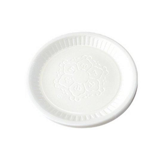 바보사랑 일회용접시 18호 50개 (17.2cm) 1회용식기 자외선살균.포리빙