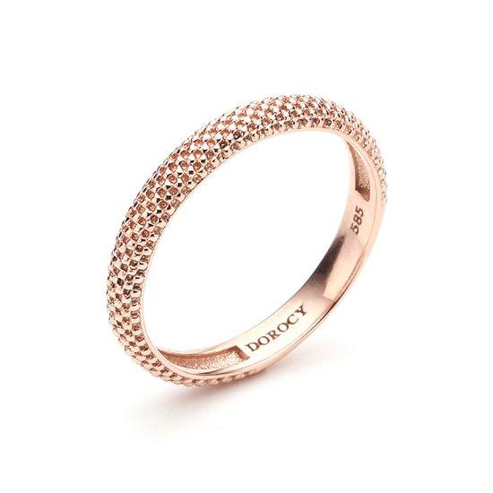[도로시]14k 엠보타탄 반지