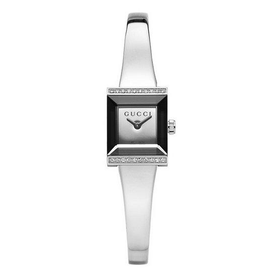 구찌 GUCCI YA128504 G-Frame 여성메탈시계