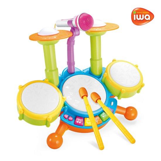 아이와 유아드럼세트 리듬악기 놀이