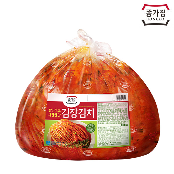 종가집 깔끔 시원 김장포기김치 10kg