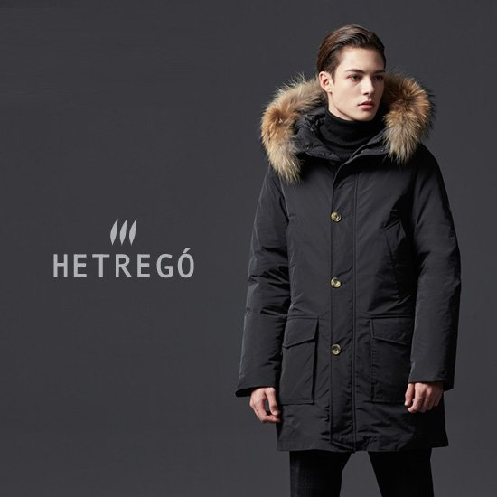 [MADE IN ITALY] HETREGO 남성 JORASSES 구스다운 야상
