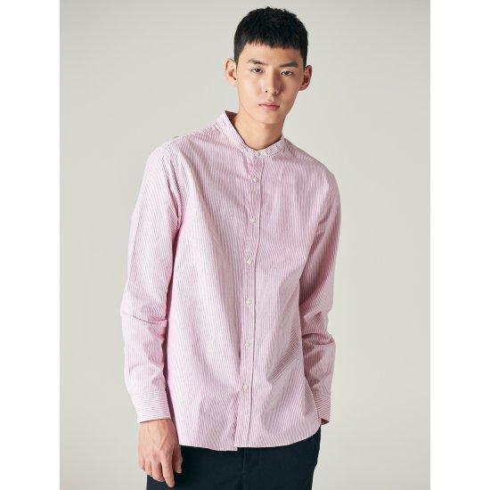 에잇세컨즈  핑크 스트라이프 셔츠 258164WY4X