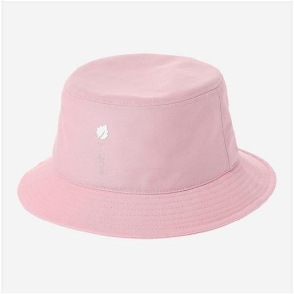 [하프클럽/라푸마]라푸마 여성 핑크 로고 프린트 버킷햇 LEHE7..