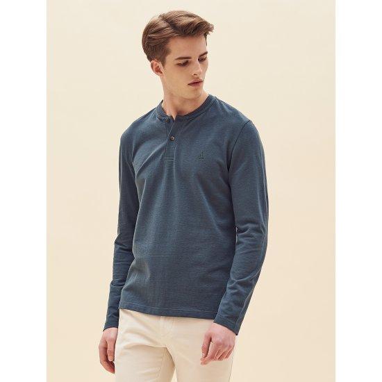 빈폴  그린 헨리넥 티셔츠 BC8241A15M