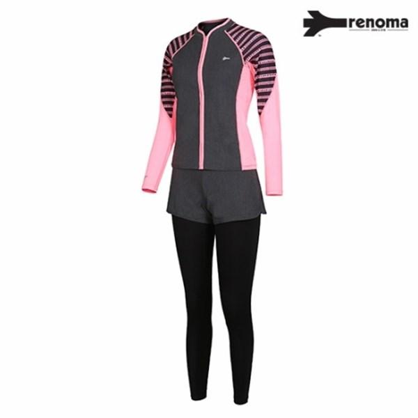 [하프클럽/renoma]레노마 여성 집업 래쉬가드 상하세트 RNM_RN..