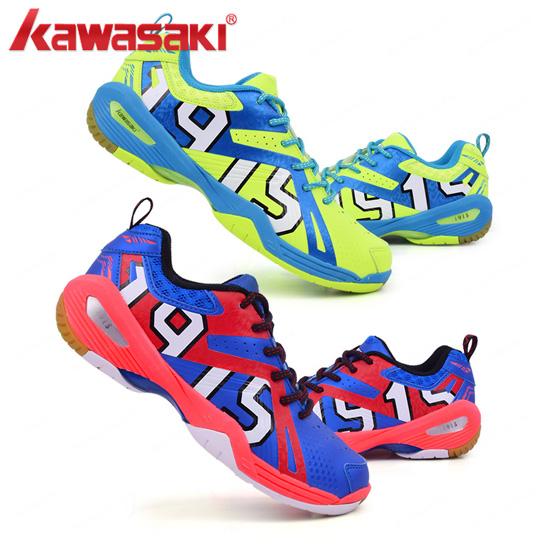 가와사키/K-515/K-516/남여배드민턴/탁구화/신발