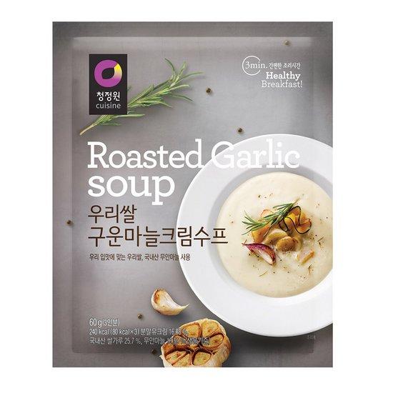 청정원 우리쌀 마늘크림수프 60g