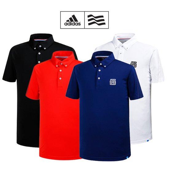 [아디다스골프] 남성 삼선슬리브 폴로 티셔츠 4종 택1_GA