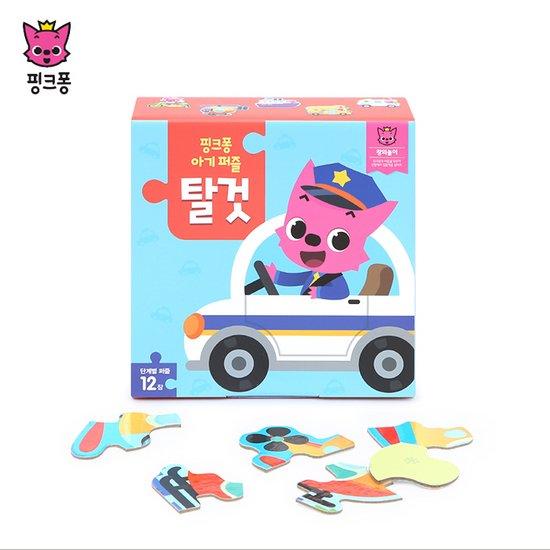 [위존]핑크퐁 아기퍼즐 탈것/유아퍼즐