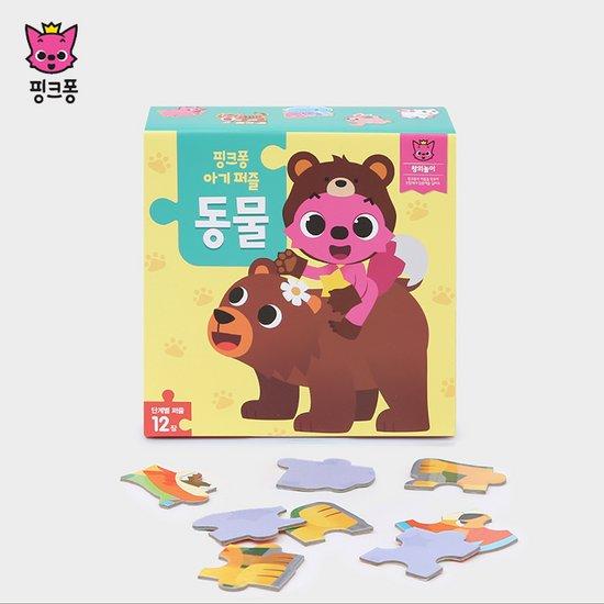 [위존]핑크퐁 아기퍼즐 동물/유아퍼즐