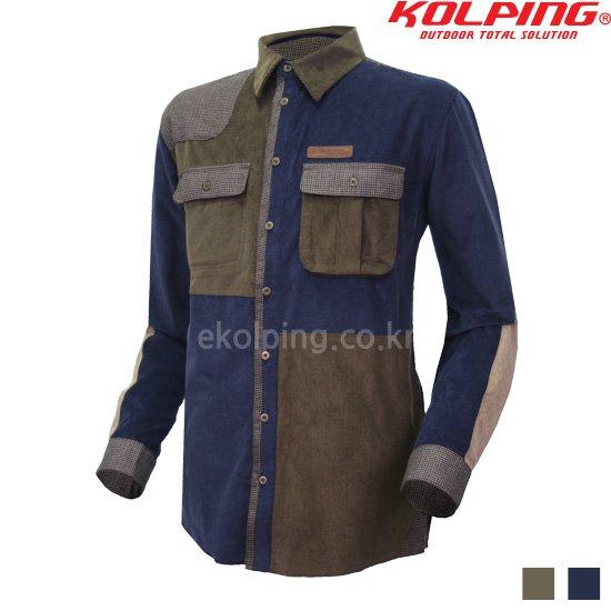콜핑 캐주얼 겨울남방 카이스남 KKH5554M