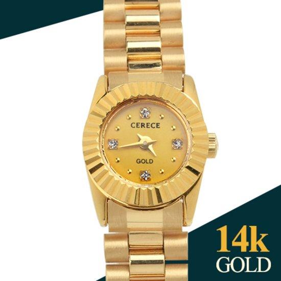 18k 여성 시계 레브