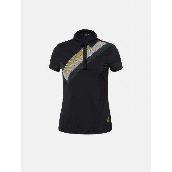 빈폴골프  여성 블랙 티셔츠 BJ8342A055
