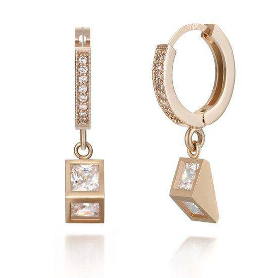 [끄란느] 14K 원터치 귀걸이 gold pin C24EGP039