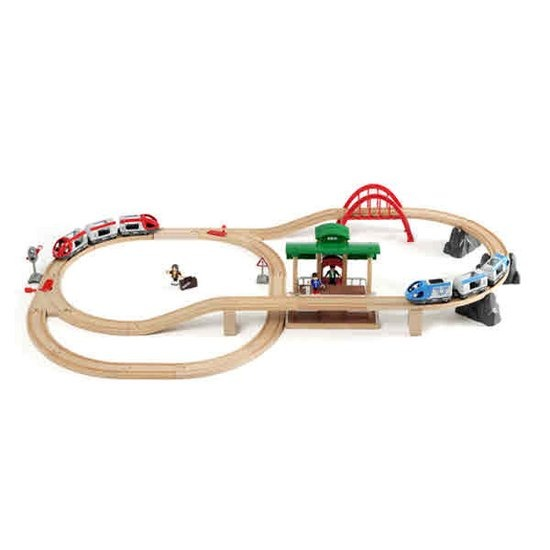 브리오 여행 기차 세트-33512