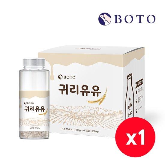 보뚜 귀리유유 50gx6개입 / 1박스