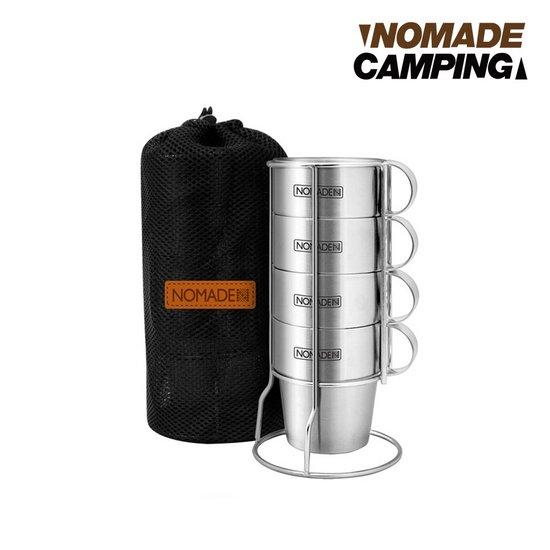 노마드 패밀리 머그컵 4p ST CN030083 캠핑용품