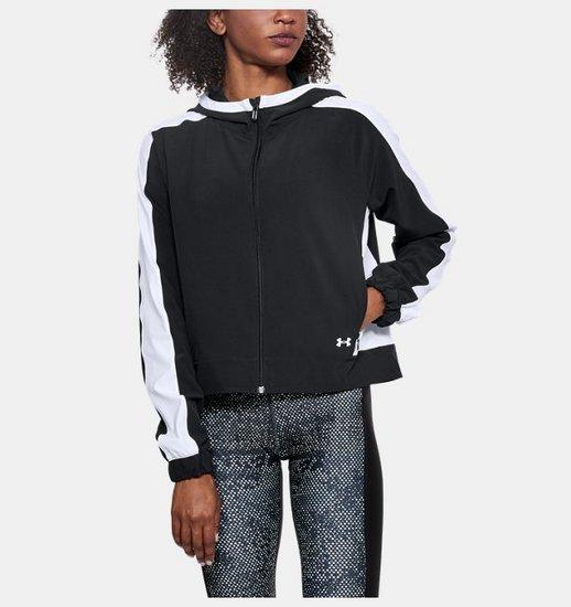 [언더아머 공식]여성 UA Storm 우븐 풀 집 재킷