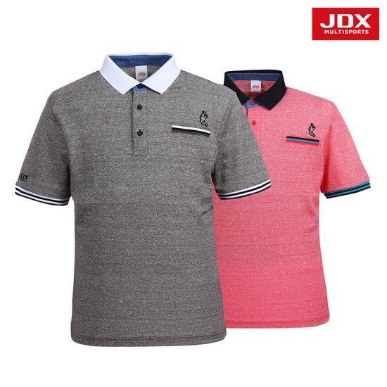 [JDX] 남성 가슴장식포켓 린넨PQ 요꼬티셔츠 2종 택1 X2NMTSM02