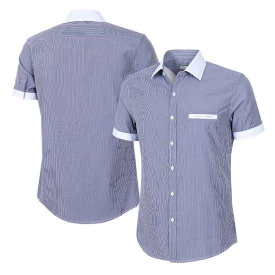 DFST067 캐쥬얼 반팔 남방 남자 와이셔츠 스트라이프