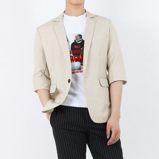FRJK027 기획 폴리 7부 마이 남자 콤비 봄여름 자켓