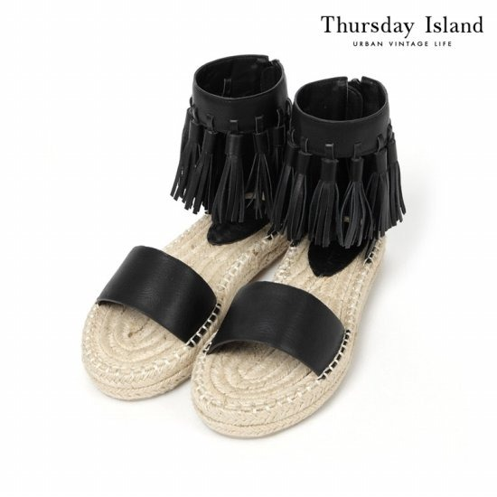 Thursday Island 여성 프린지 에스파듀 샌들T164MSE234W