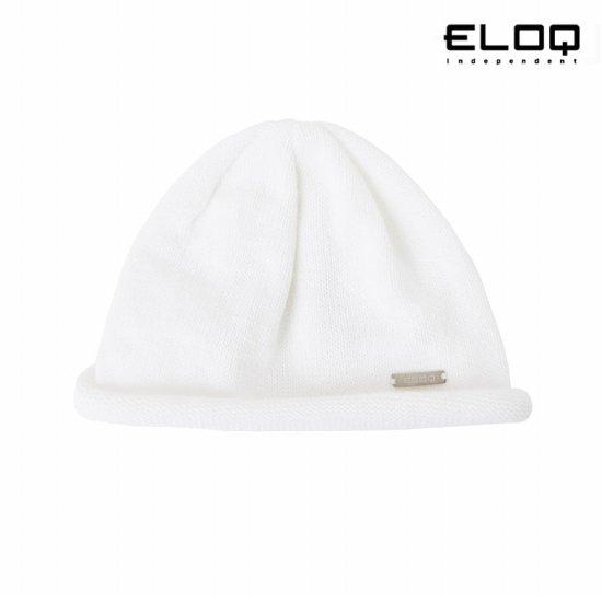 ELOQ 공용 롤업 니트모자B164MCP108U