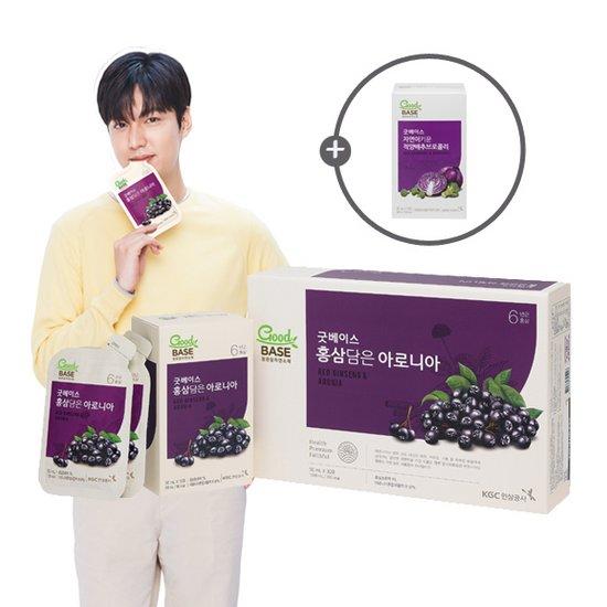 [빠른배송] 굿베이스 정관장 홍삼담은 아로니아 4박스 + 사은품