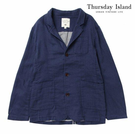 Thursday Island 남성 린넨 데일리 자켓T164MJK201M