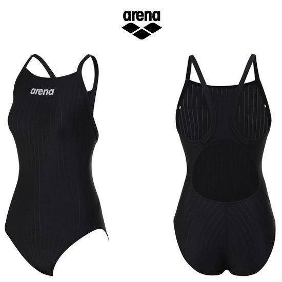 아레나 여성 선수 원피스 수영복 AUSCO02BLK
