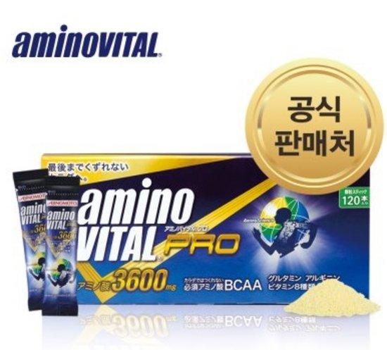 아미노바이탈 3600 프로 120포 아미노산 단백질 헬스 보충제 BCA