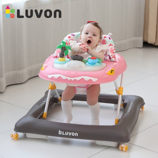 [LUVON] 러본 팔레오 보행기 - 디노핑크