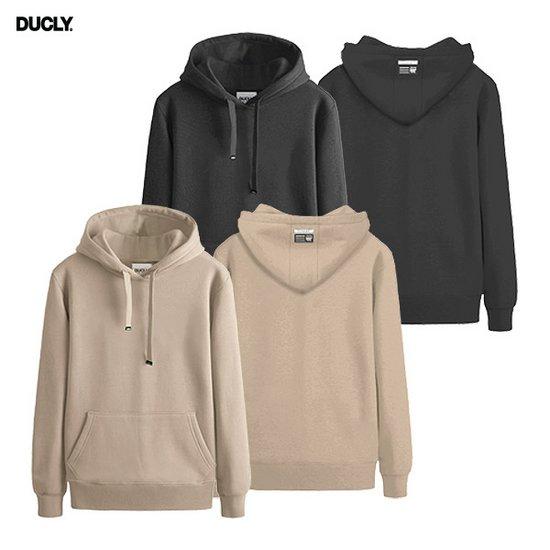 [DUCLY] 듀클라이 기모 후드티 DU-200