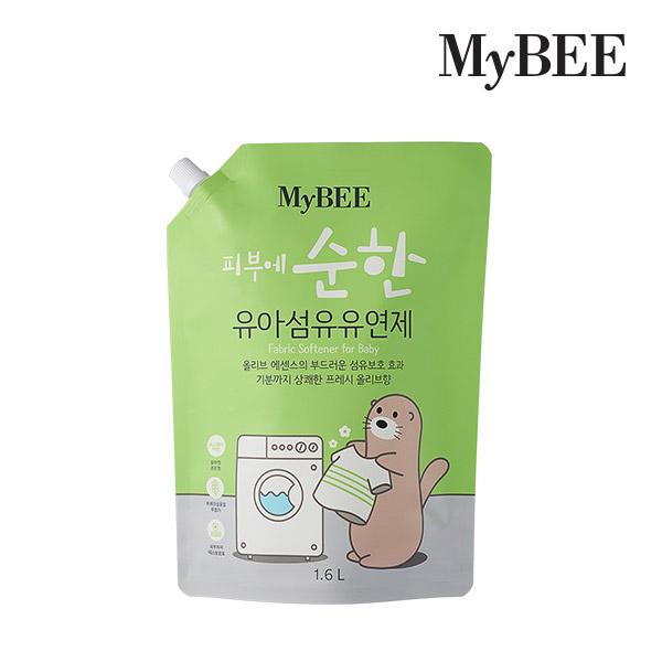 마이비 순한 유아섬유유연제 리필 1600ml 1팩