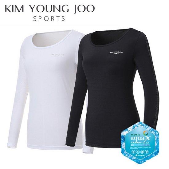김영주 스포츠 여성 냉감 기능성티셔츠 - KS8MLTS022