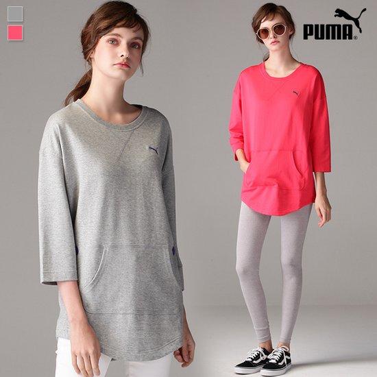 [푸마PUMA] 7부소매 맨투맨 티셔츠