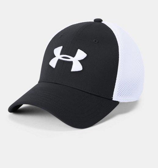 [언더아머 공식]남성 UA Threadborne 골프 메쉬 캡
