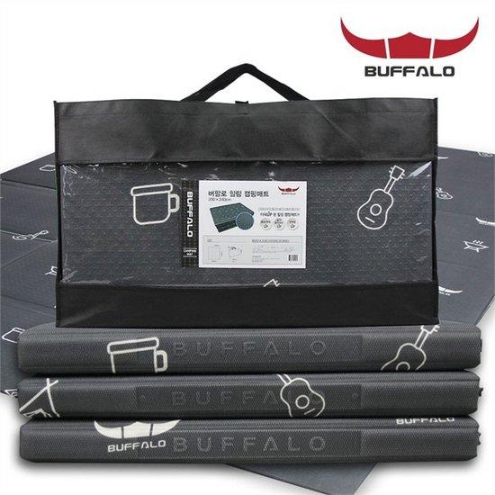 [하프클럽/BUFFALO]힐링캠핑매트 200x240 항균 코튼