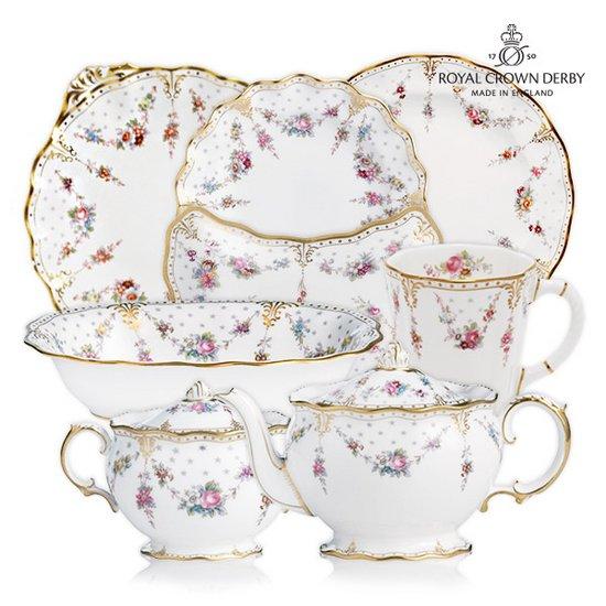 [영국황실도자기] 여왕의 그릇 로얄 크라운더비 앙투와네트