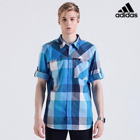 [아디다스] 기능성 소재 긴팔 셔츠