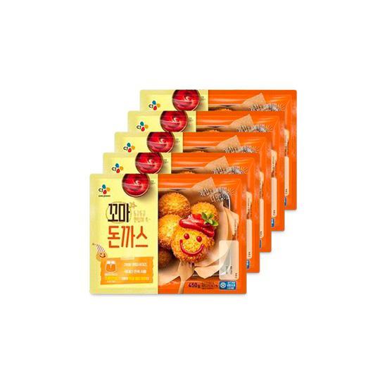 [CJ] 맛있는 꼬마돈까스 450g x 5봉