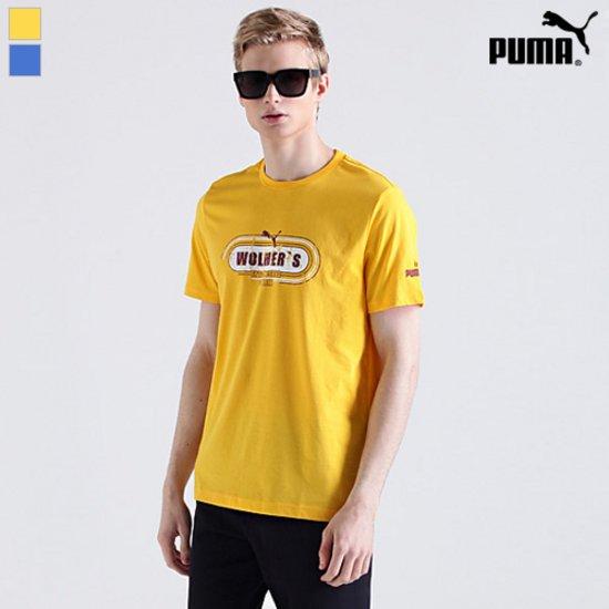 [푸마PUMA] 코튼 라운드 티셔츠