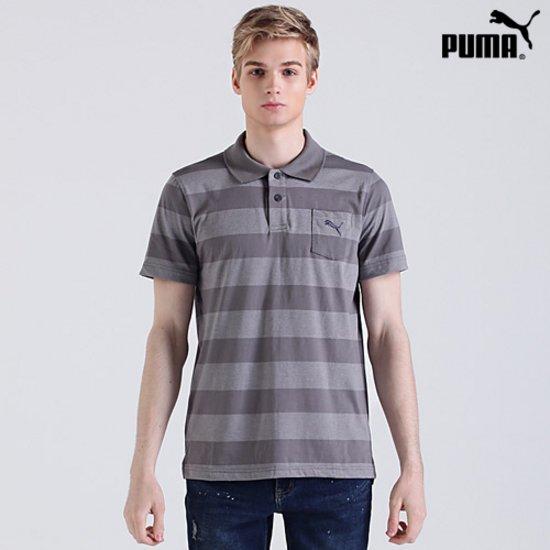 [푸마PUMA] 포켓 로고 PK 티셔츠