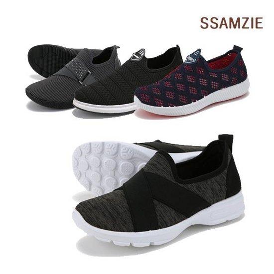 쌈지 남녀초경량 편안한 슬립온 운동화 스니커즈 신발