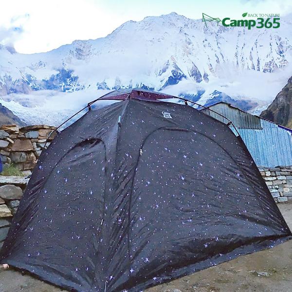 캠프365 쉘터 그늘막텐트 히말라야 중형 화이버글라스