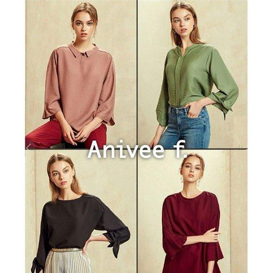 아니베에프 여성 홈쇼핑 마르세유 블라우스 4종택1