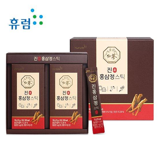 휴럼 진 홍삼정스틱 1BOX 30포 명절 선물